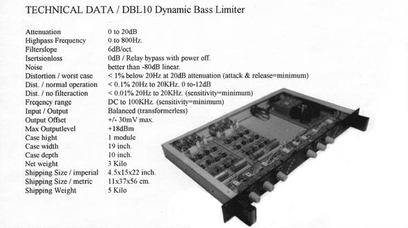 DBTL20 Bass and Treble Limiter